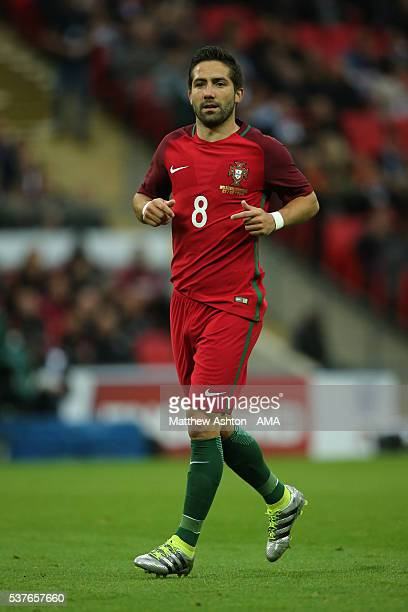 Joao Moutinho of Portugal during the International Friendly match between England and Portugal at Wembley Stadium on June 2 2016 in London England