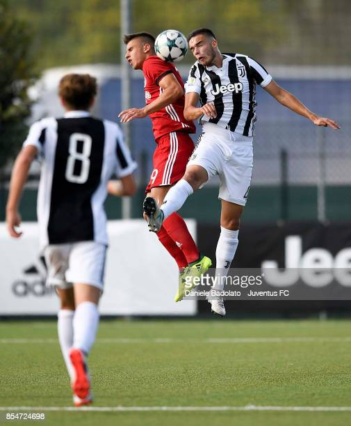 Joao Pedro Pereira Serrao during the UEFA Youth League match between Juventus and Olympiakos Piraeus at Juventus Center Vinovo on September 27 2017...