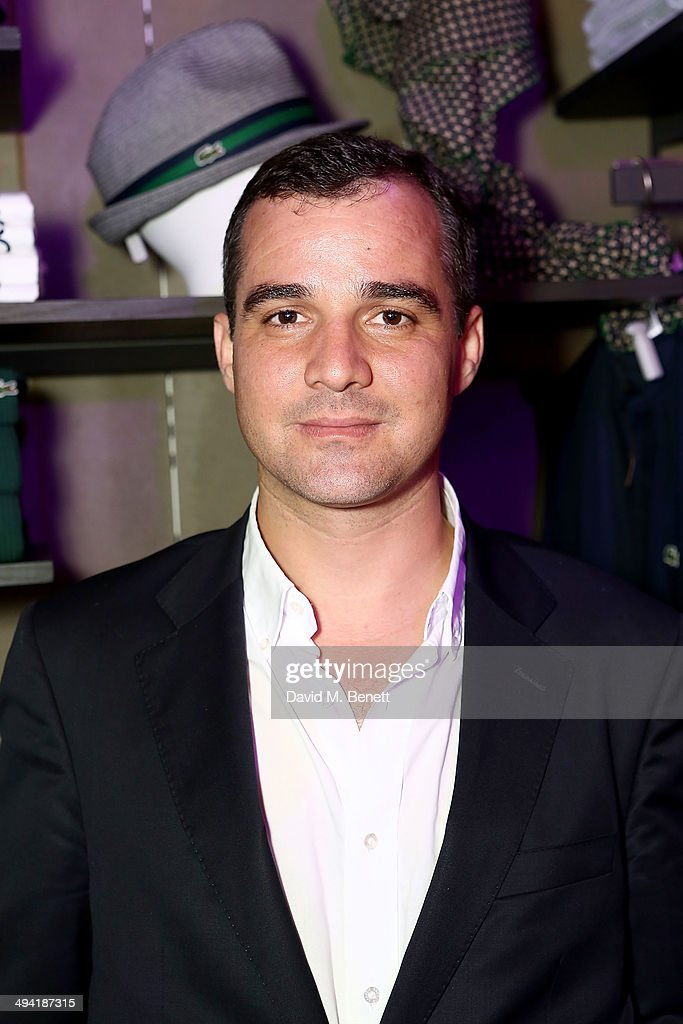 Joaquim Fidalgo, CEO Lacoste UK attends the Lacoste Store Reopening on May 28, 2014 in London, England.