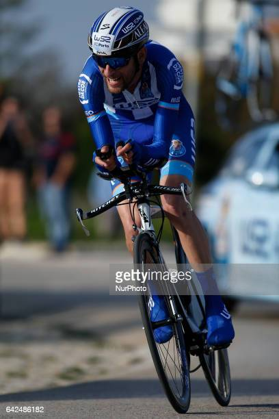Joaquim of W52/FCPORTO during the 3rd stage of the cycling Tour of Algarve in Sagres on February 17 2017