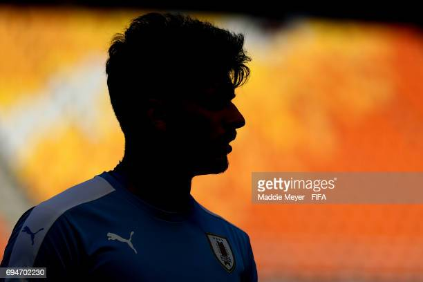 Joaquin Ardaiz of Uruguay looks on before the FIFA U20 World Cup Korea Republic 2017 3rd rank playoff match between Uruguay and Italy at Suwon World...