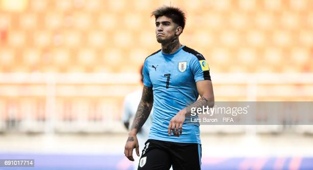 Joaquin Ardaiz of Uruguay looks on during the FIFA U20 World Cup Korea Republic 2017 Round of 16 match between Uruguay and Saudi Arabia at Suwon...