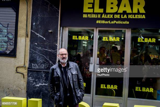 Joaquin Climent attends 'El Bar' Photocall at Paletinos bar on March 22 2017 in Madrid Spain