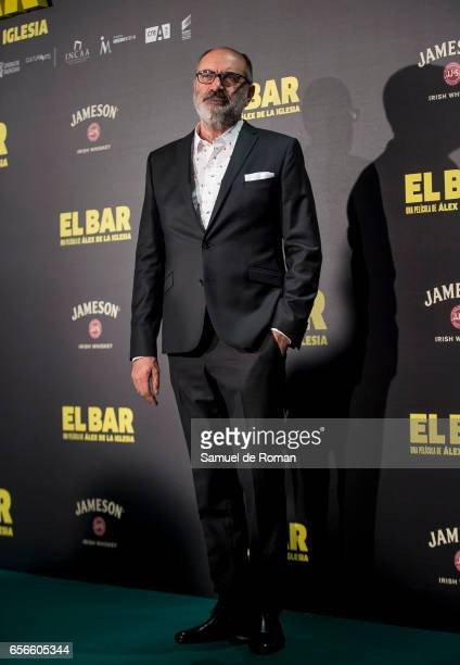 Joaquin Climent attends 'El Bar' premiere at Callao cinema on March 22 2017 in Madrid Spain