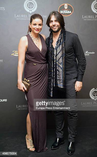 Joaquin Cortes attends the Laurel Platinum Award Gala at The Westin Palace Hotel on September 24 2014 in Madrid Spain
