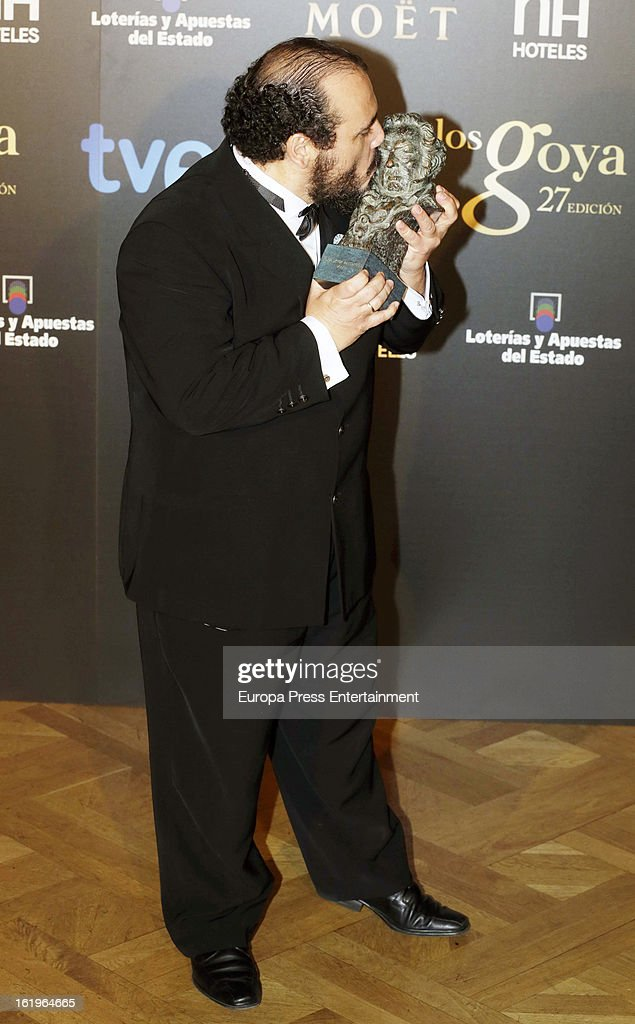 Joaquin Nunez attends the official 'Goya Cinema Awards After Party' 2013 at Casino de Madrid on February 17, 2013 in Madrid, Spain.