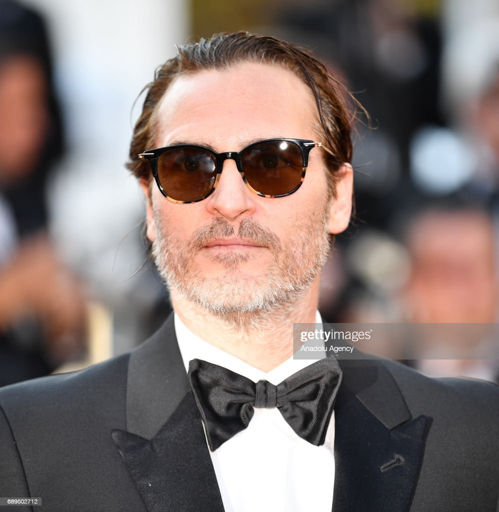 Joaquin Phoenix arrives for the Closing Awards Ceremony of the 70th annual Cannes Film Festival in Cannes, France on May 28, 2017.