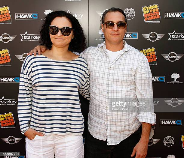 Joaquin Phoenix attends 11th Annual Tony Hawk's Stand Up For Skateparks Benefit at Ron Burkle's Green Acres Estate on September 21 2014 in Beverly...