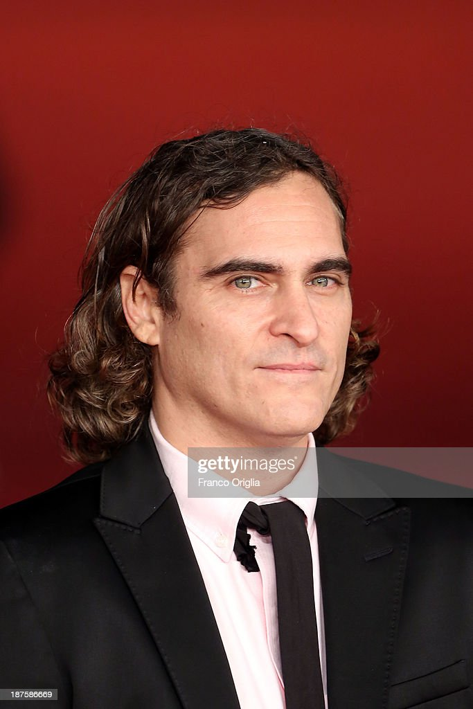 <a gi-track='captionPersonalityLinkClicked' href=/galleries/search?phrase=Joaquin+Phoenix&family=editorial&specificpeople=215391 ng-click='$event.stopPropagation()'>Joaquin Phoenix</a> attends 'Her' Premiere during The 8th Rome Film Festival at Auditorium Parco Della Musica on November 10, 2013 in Rome, Italy.