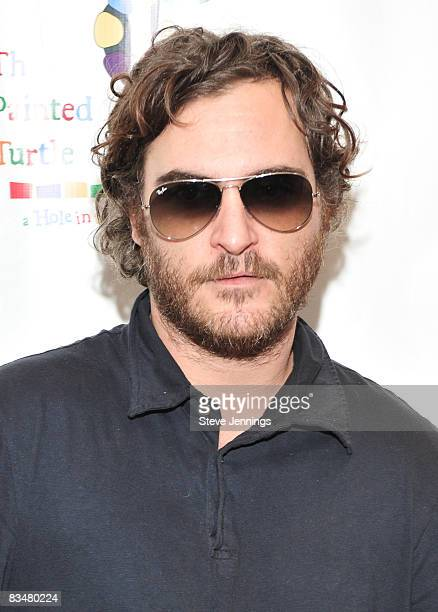 Joaquin Phoenix attends Paul Newman's California Camp 'The Painted Turtle' Benefit Concert at the Davies Symphony Hall on October 27 2008 in San...
