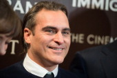 Joaquin Phoenix attends the Dior Vanity Fair with The Cinema Society premiere of The Weinstein Company's 'The Immigrant' at The Paley Center for...