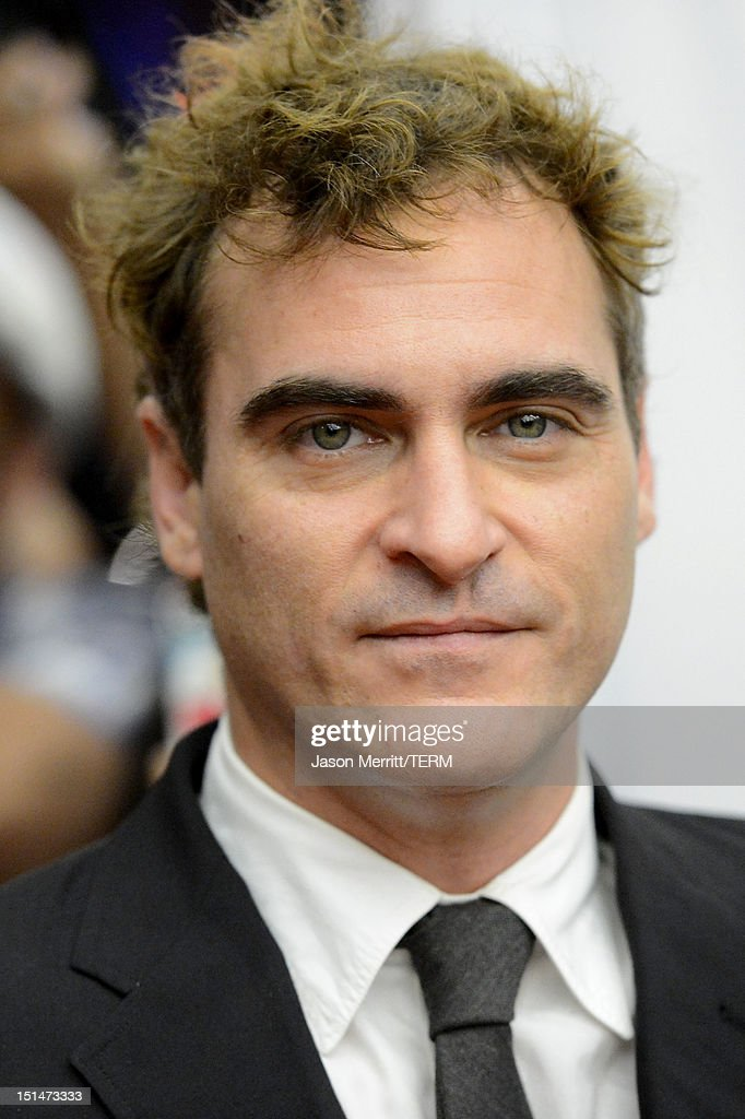 <a gi-track='captionPersonalityLinkClicked' href=/galleries/search?phrase=Joaquin+Phoenix&family=editorial&specificpeople=215391 ng-click='$event.stopPropagation()'>Joaquin Phoenix</a> attends 'The Master' Premiere during the 2012 Toronto International Film Festival at Princess of Wales Theatre on September 7, 2012 in Toronto, Canada.