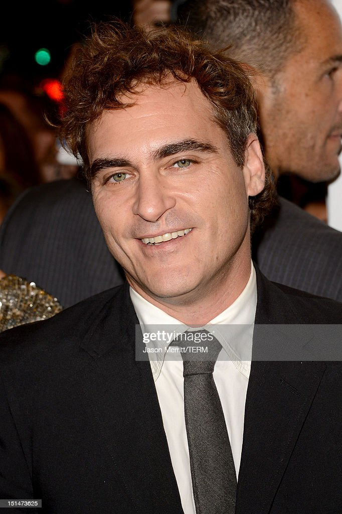 Joaquin Phoenix attends 'The Master' Premiere during the 2012 Toronto International Film Festival at Princess of Wales Theatre on September 7, 2012 in Toronto, Canada.