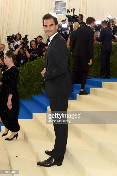 Joaquin Phoenix attends the 'Rei Kawakubo/Comme des Garcons Art Of The InBetween' Costume Institute Gala at Metropolitan Museum of Art on May 1 2017...