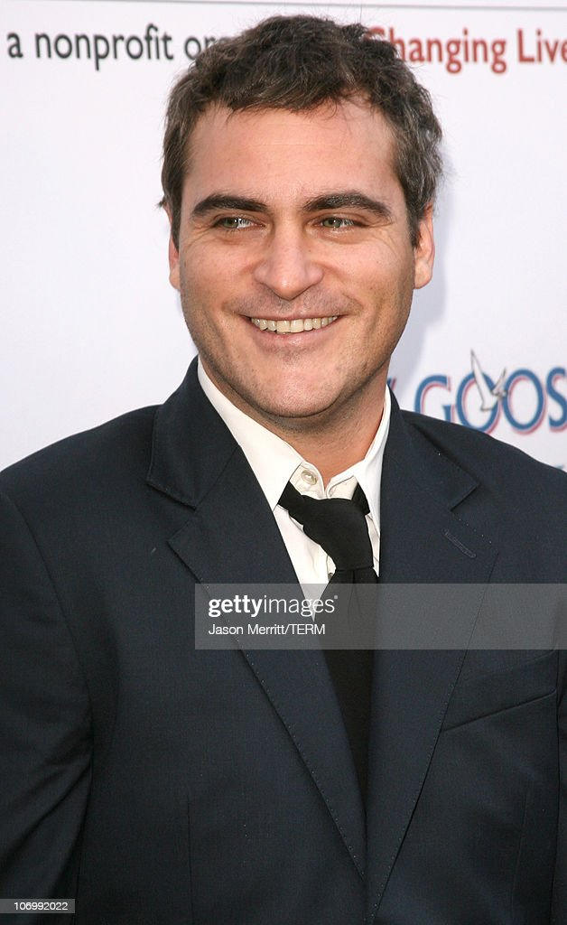 Joaquin Phoenix during Chrysalis' 5th Annual Butterfly Ball at The Italian Villa Carla & Fred Sands in Bel Air, California, United States.
