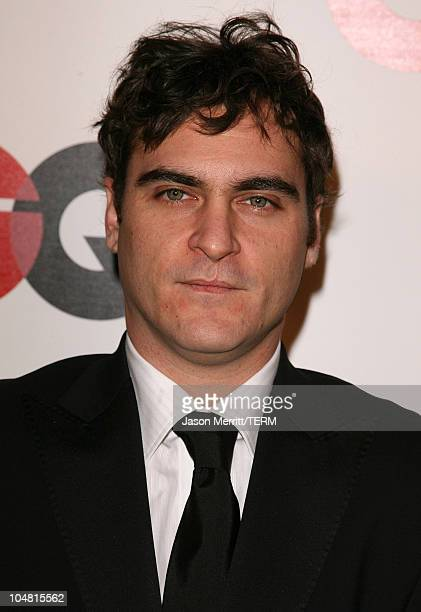 Joaquin Phoenix during GQ Celebrates 2005 Men of the Year Arrivals at Mr Chow in Beverly Hills California United States