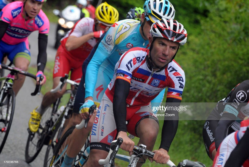Joaquin Rodriguez Oliver of Team Katusha during Stage Eight of the Criterium du Dauphine, Sisteron to Risoul, France on Sunday 09 June 2013.