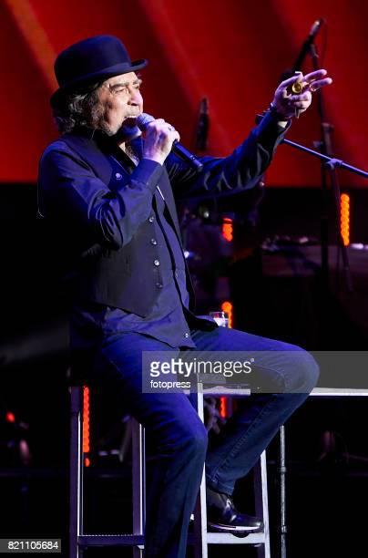 Joaquin Sabina performs at Coliseum on July 22 2017 in A Coruna Spain