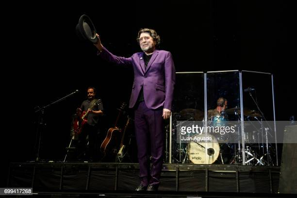 Joaquin Sabina performs on stage at Wizink Center on June 21 2017 in Madrid Spain