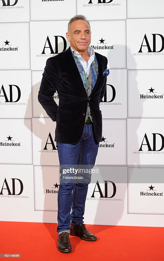 Joaquin Torres attends AD Awards 2013 at the Casino de Madrid on February 19, 2013 in Madrid, Spain.