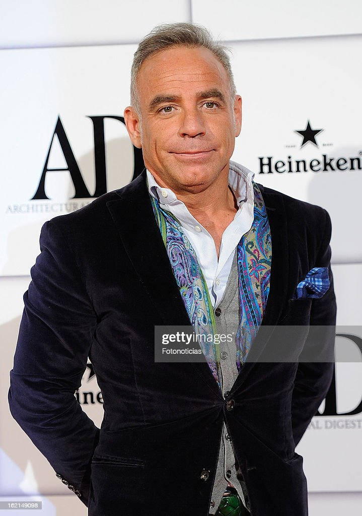 joaquin torres attends ad awards at the casino de madrid on february