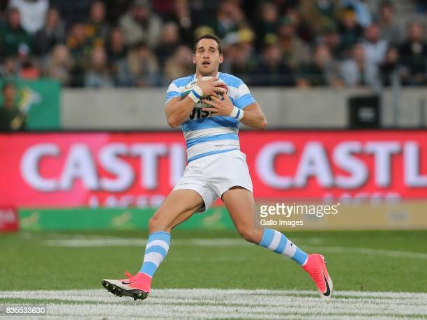 Joaquin Tuculet of Argentina during the Rugby Championship match between South Africa and Argentina at Nelson Mandela Bay Stadium on August 19 2017...