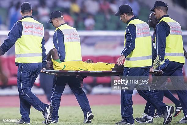 Joazhifel Soares da Cruz Soua Pontes of Sao Tome e Principe during the Africa Cup of Nations match between Morocco and Sao Tome E Principe at...