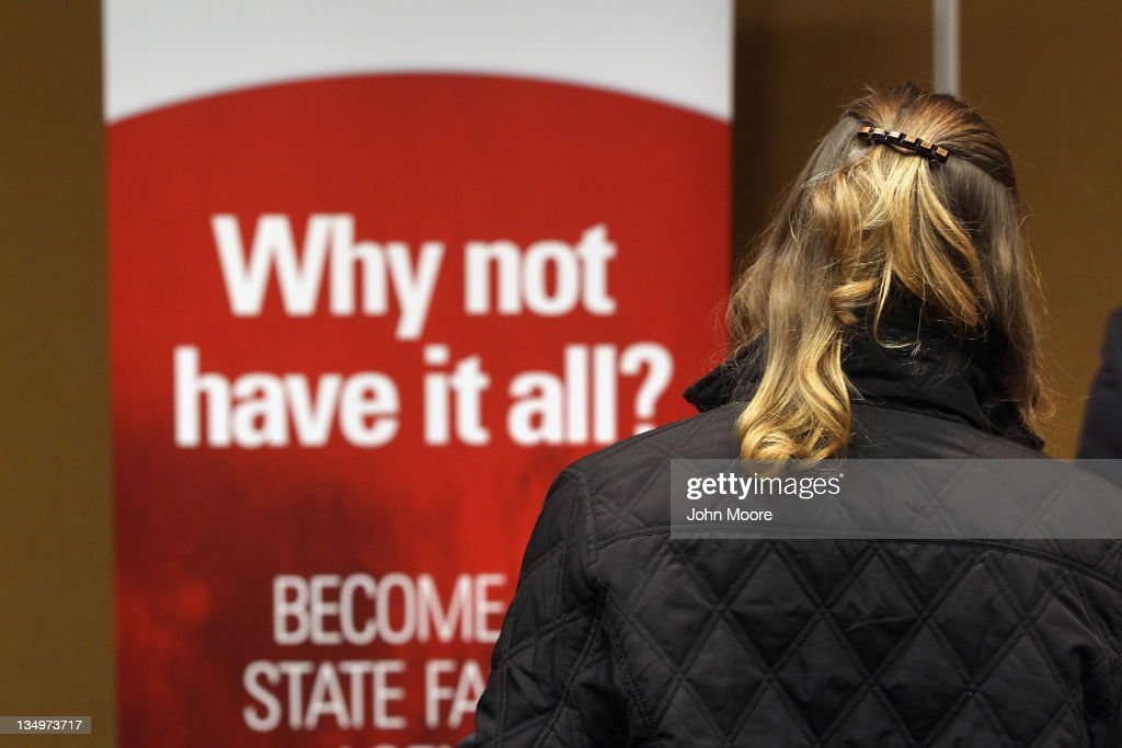 A job applicant waits to meet a potential employer at the 'Denver Hires Job Fair' on December 5, 2011 in Denver, Colorado. Last week the U.S. government announced that the national unemployment rate has fallen to 8.6 percent, lower than most analysts had predicted and the lowest since 2009.