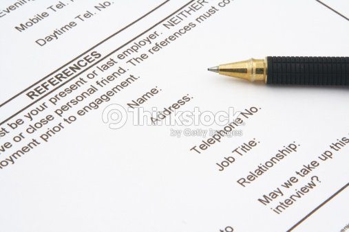Job Application Form Stock Photo Thinkstock