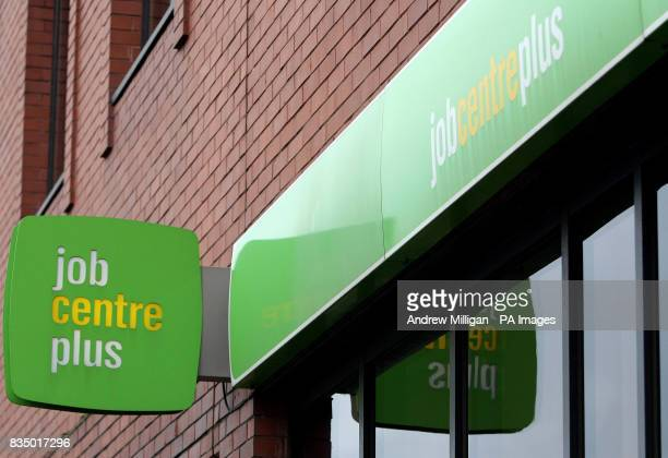 A Job centre in Partick Glasgow as the number of people out of work in Scotland has risen by 13000 figures revealed today