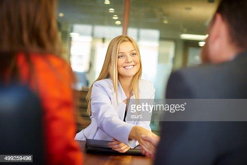 job interview candidate
