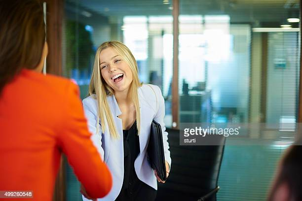 job interview-Kandidaten