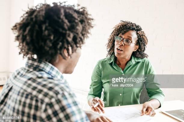 Job Bewerbungsgespräch