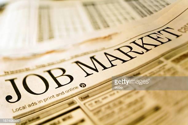 Job Market in Newspaper