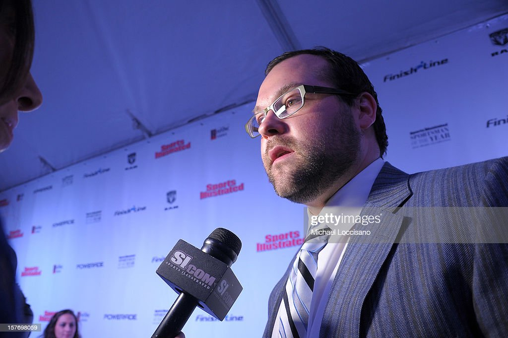 Joba Chamberlain attends the 2012 Sports Illustrated Sportsman of the Year award presentation at Espace on December 5, 2012 in New York City.