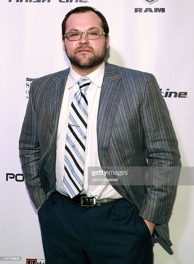 <a gi-track='captionPersonalityLinkClicked' href=/galleries/search?phrase=Joba+Chamberlain&family=editorial&specificpeople=4391682 ng-click='$event.stopPropagation()'>Joba Chamberlain</a> attends the 2012 Sports Illustrated Sportsman of the year award presentation at Espace on December 5, 2012 in New York City.