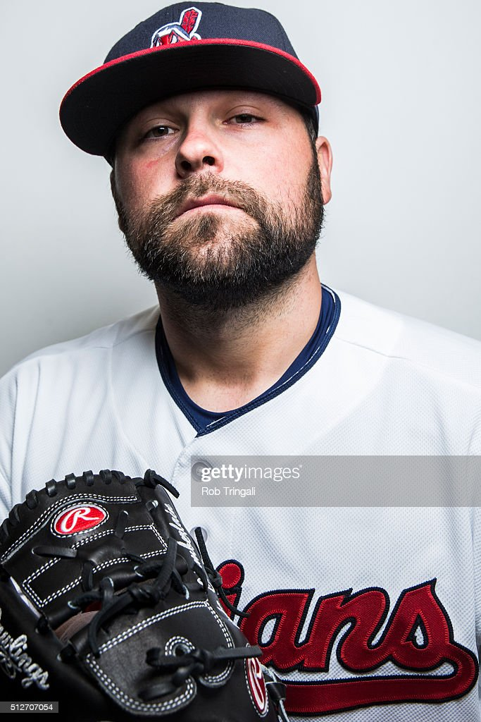 <a gi-track='captionPersonalityLinkClicked' href=/galleries/search?phrase=Joba+Chamberlain&family=editorial&specificpeople=4391682 ng-click='$event.stopPropagation()'>Joba Chamberlain</a> of the Cleveland Indians poses for a portrait during photo day at the Cleveland Indians Development Complex on February 27, 2016 in Goodyear, Arizona.