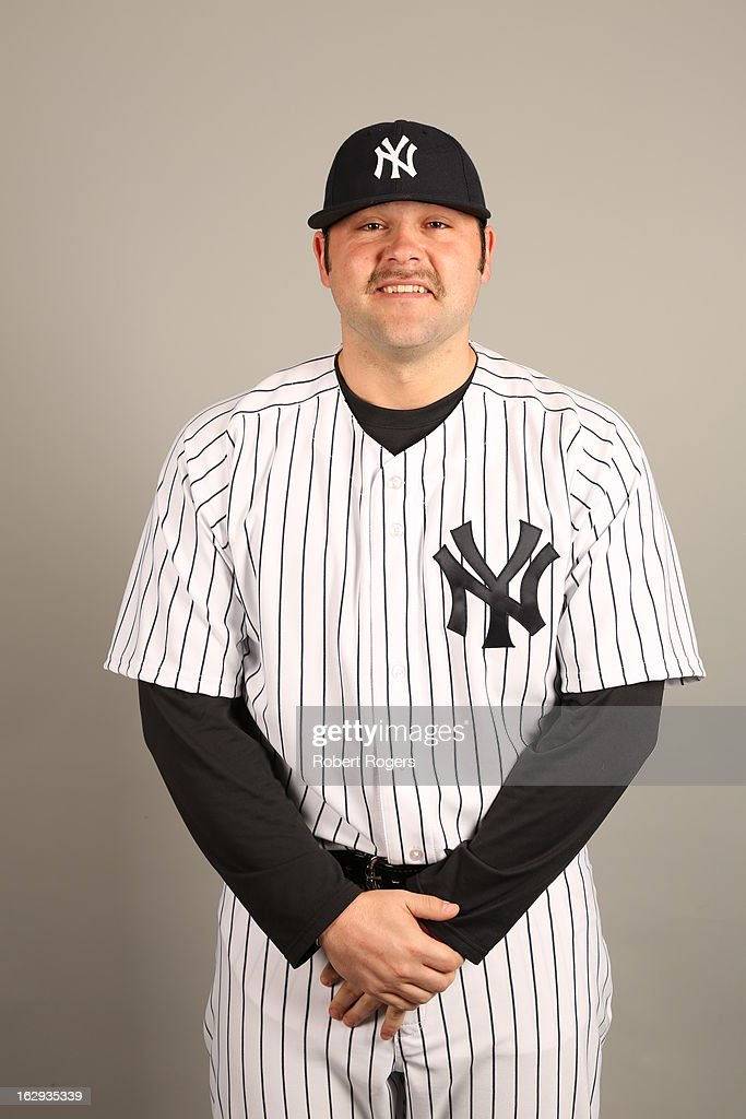 Joba Chamberlain #62 of the New York Yankees poses during Photo Day on February 20, 2013 at George M. Steinbrenner Field in Tampa, Florida.