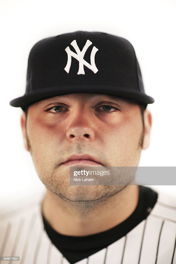 Joba Chamberlain #62 of the New York Yankees poses during Photo Day on February 19, 2009 at George M. Steinbrenner Field in Tampa, Florida.