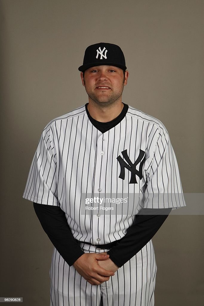<a gi-track='captionPersonalityLinkClicked' href=/galleries/search?phrase=Joba+Chamberlain&family=editorial&specificpeople=4391682 ng-click='$event.stopPropagation()'>Joba Chamberlain</a> of the New York Yankees poses during Photo Day on Thursday, February 25, 2010 at Steinbrenner Field in Tampa, Florida.