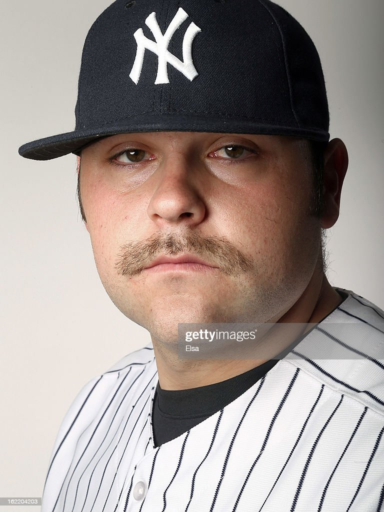 Joba Chamberlain #62 of the New York Yankees poses for a portrait on February 20, 2013 at George Steinbrenner Stadium in Tampa, Florida.