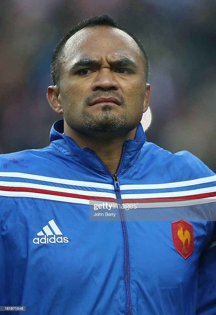 Jocelino Suta of France poses before the 6 Nations match between France and Wales at the Stade de France on February 9, 2013 in Paris, France.