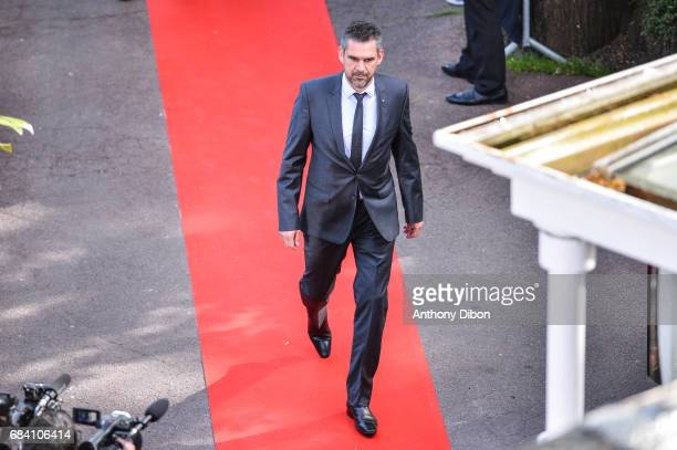 Jocelyn Gourvennec coach of Guingamp during the ceremony for the UNFP Trophy Awards on May 15 2017 in Paris France