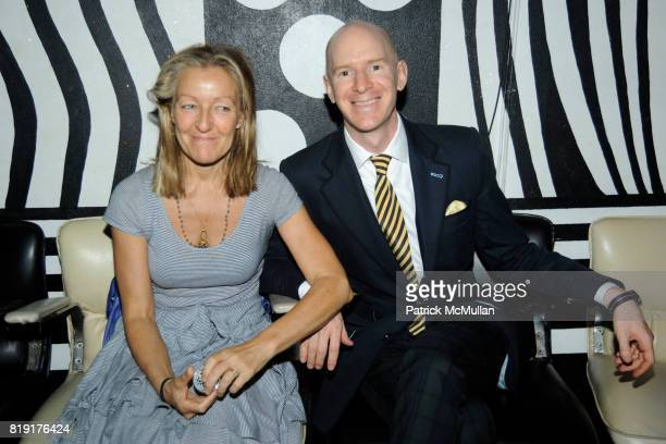 Jocelyn Stern and Andy Stern attend MAC alice olivia by Stacey Bendet Collection Launch at Beauty Bar on July 14 2010 in New York City