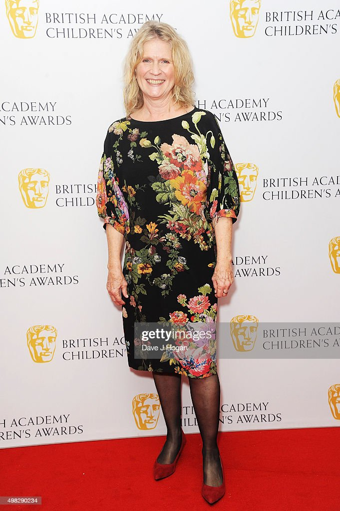 Jocelyn Stevenson attends the British Academy Children's Awards at The Roundhouse on November 22 2015 in London England