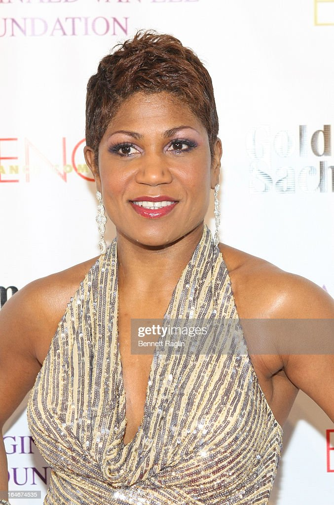 Jocelyn Taylor attends the Evidence, A Dance Company 9th annual Torch Ball at The Plaza Hotel on March 25, 2013 in New York City.