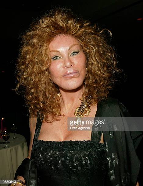 Jocelyn Wildenstein arriving at the Magical Birthday Bash to benefit the Christopher Reeve Paralysis Foundation at the Marriott Marquis in New York...