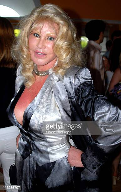 Jocelyn Wildenstein during Jason Binn and Hamptons Magazine 6th Annual Memorial Day Celebration at Private Hampton Residence in Southampton New York...