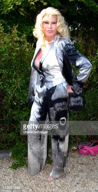 Jocelyn Wildenstein during Jason Binn and Hamptons Magazine 6th Annual Memorial Day Celebration at Private Hampton Residence in Southampton New York...