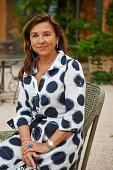 Jocelyne Sibuet is photographed for Madame Figaro on June 26 2014 in Tourtour France PUBLISHED IMAGE CREDIT MUST READ Bernhard...
